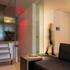 WaltHuis Domotica corridor living